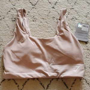 Gymshark Dreamy sports bra in taupe